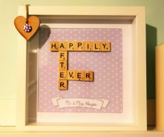 Happily Ever After Scrabble